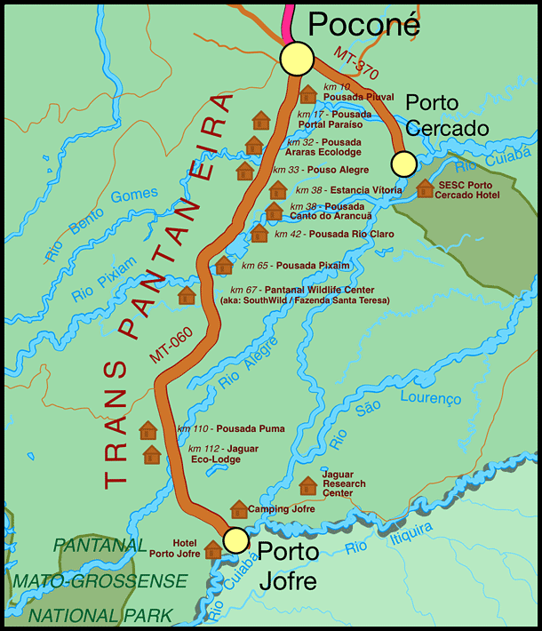 map transpantaneira